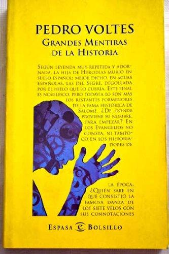 9788423996544: GRANDES MENTIRAS DE LA HISTORIA (4 ED.)