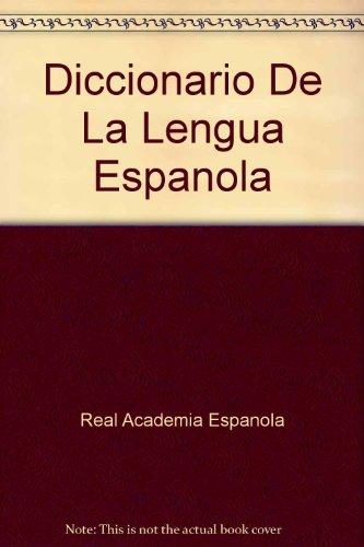 9788423998043: Diccionario De La Lengua Espanola