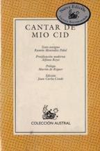 Cantar De Mio Cid Abebooks
