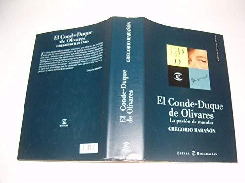 9788423999194: Conde duque de olivares