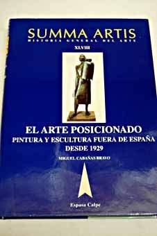 9788423999293: Summa artis 48 el arte posicionadopintura y escultura fuera de español (Summa artis, historia general del arte)