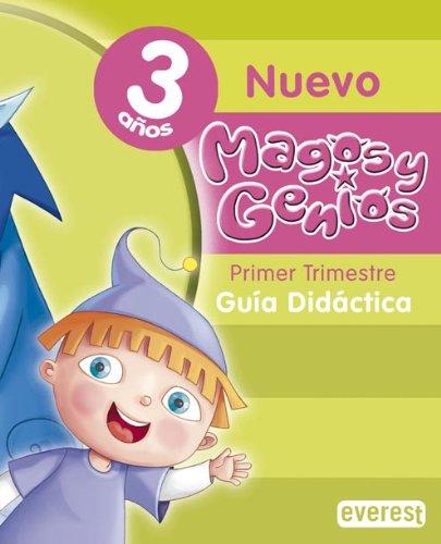 9788424100193: Nuevo Magos y Genios 3 años.Guía didáctica: Educación Infantil