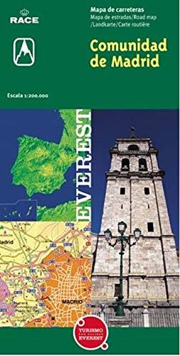 9788424100988: Mapa de la Comunidad de Madrid (Mapas provinciales / serie verde)