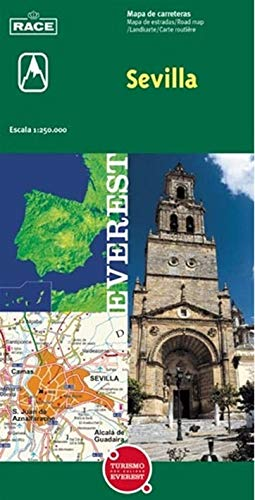 9788424100995: Mapa provincial de Sevilla (Mapas provinciales / serie verde)