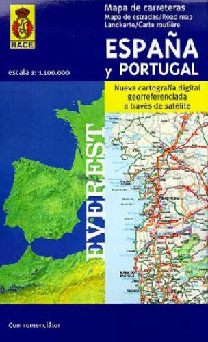 9788424101008 Espana And Portugal Map Abebooks 8424101006