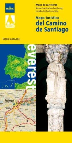 9788424102852: Mapa Turistico Del Camino De Santiago 1:500000