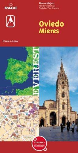 9788424102999: Oviedo y Mieres. Plano callejero (Planos callejeros/serie roja)
