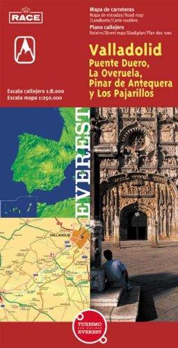 9788424103118: Valladolid, Puente Duero, La Overuela, Pinar de Antequera y Los Pajarillos. Plano callejero y mapa de carreteras...