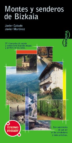 9788424103897: Visita Montes y Senderos de Bizkaia (Visita / Serie Verde)