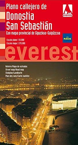 Plano Callejero de Donostia-San Sebastian Con Mapa: Editorial Everest
