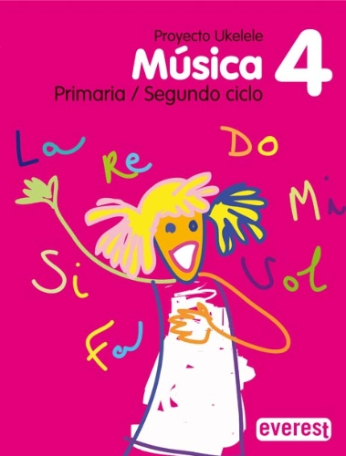 9788424106584: Música 4º Primaria. Proyecto Ukelele: Segundo Ciclo - 9788424106584