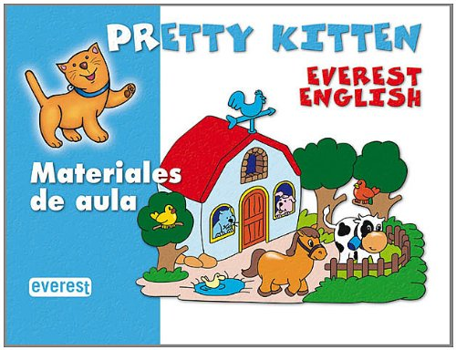 9788424109400: Maletín de materiales de aula Pretty Kitten (Pretty Kitten. Everest English. Educación Infantil) - 9788424109400