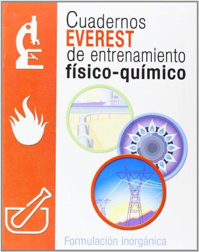9788424109516: Cuadernos Everest de entrenamiento físico-químico. Formulación Inorgánica