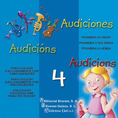 9788424109974: Magos y Genios 4 años. CD Audiciones: Educación Infantil (Proyecto Magos y Genios)