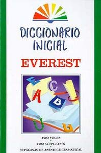 9788424110154: Diccionario Inicial Everest / Everest Beginning Dictionary (Spanish Edition)