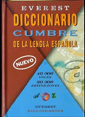 9788424110345: Everest Diccionario Cumbre Espanol Nuevo