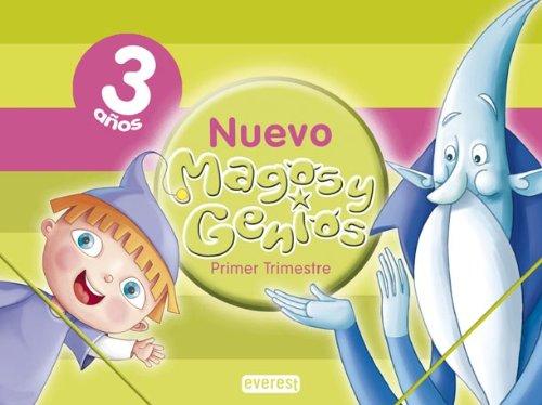 9788424111502: Nuevo Magos y Genios 3 años. 1er Trimestre: Educación Infantil - 9788424111502