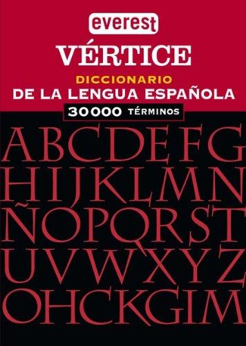 9788424112790: Everest Vertice Diccionario de La Lengua Espa~nola (Spanish Edition)