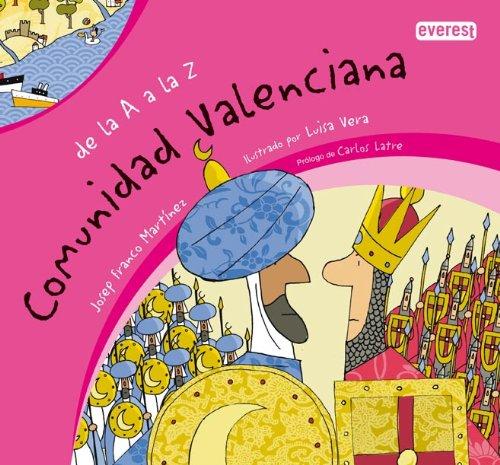 9788424113285: De la A a la Z. Comunidad Valenciana