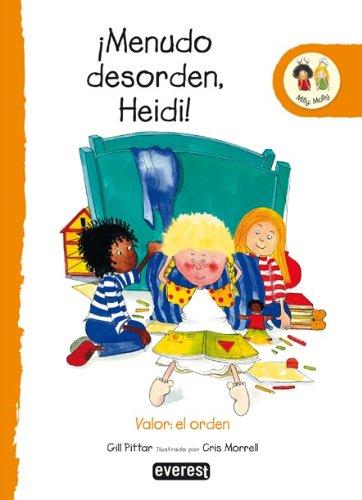 9788424113698: Menudo desorden, Heidi!