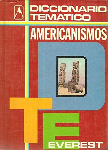 Diccionario Everest Americanismos (Spanish Edition)