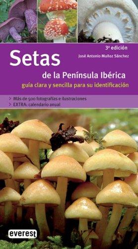 9788424115050: Setas de la Peninsula Iberica: Guia Clara y Sencilla para su Identificacion