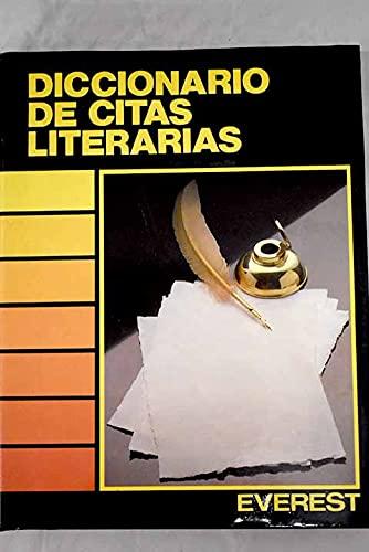 9788424115401: Diccionario de citas literarias (Diccionarios temáticos)