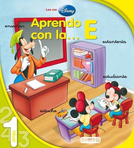 9788424117740: Aprendo con la... E. Lectura de Nivel 1 (Leo con Disney)