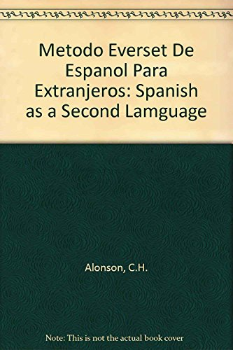 Método EVEREST de español para extranjeros. Nivel: Sanz Alonso Beatriz