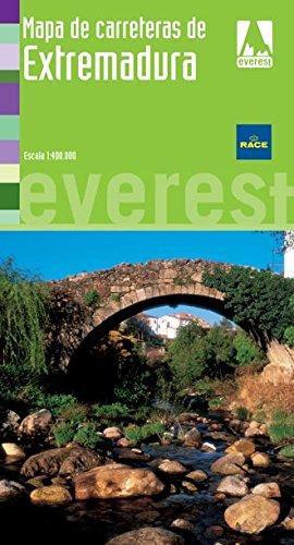 9788424118457: Mapa de carreteras de Extremadura 1:400.000 (Mapas provinciales / serie verde)