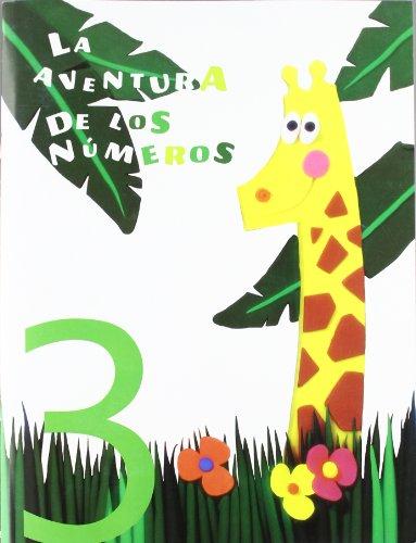 9788424118624: La aventura de los números 3 - 9788424118624