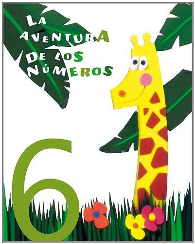 9788424118631: La aventura de los números 6 - 9788424118631