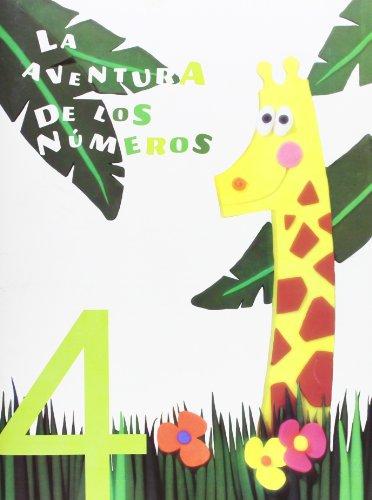 9788424118655: La aventura de los números 4-9788424118655