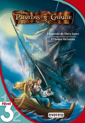 9788424123116: Piratas del Caribe 2. Huyendo de Davy Jones. El buque fantasma. Lectura Nivel 3 (Leo con Disney)