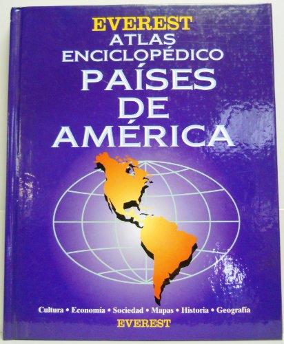 9788424125226: Atlas Enciclopedico Paises De America / Encyclopedic Atlas of Countries of the Americas (Spanish Edition)