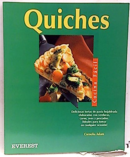 9788424125301: Quiches (Cocina fácil)