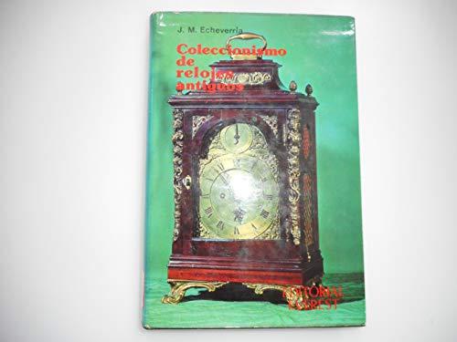 9788424128296: Coleccionismo de Relojes Antiguos (Club Everest) (Spanish Edition)