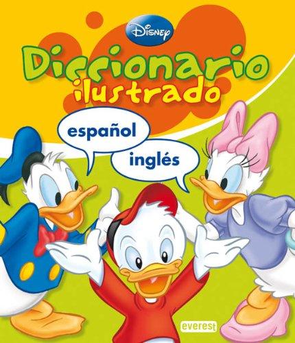 9788424133757: Diccionario ilustrado Disney Inglés-Español