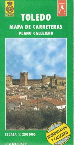 9788424140816: Toledo: Plano Callejero Mapa De Carreteras