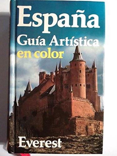 9788424149994: España : guia artistica en color