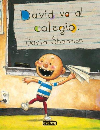 9788424158866: David Va Al Colegio / David Goes to School