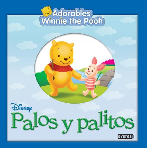 9788424159566: Adorables Winnie the Pooh. Palos y palitos