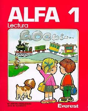 9788424161651: METODO ALFA CARTILLA DE LECTURA 1