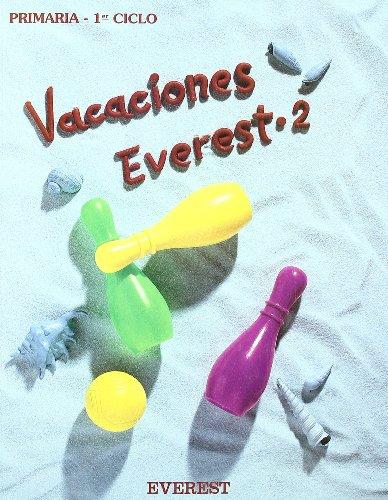 9788424162443: Vacaciones Everest 2: 1er ciclo. Educación Primaria - 9788424162443