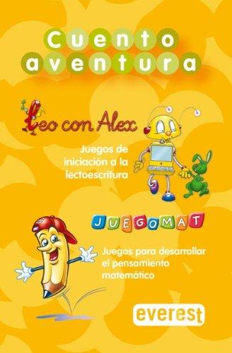 9788424170974: Cuentoaventura CD-ROM de juegos: Leo con Alex y Juegomat