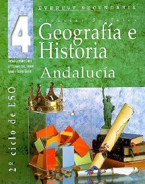 9788424173210: Geografía e Historia Andalucía 4: Ciencias sociales. Segundo ciclo de ESO.