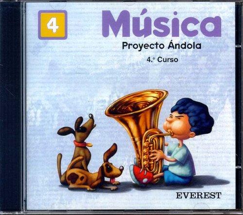 9788424174583: Música 4º Primaria. Proyecto Ándola. CD: Proyecto Ándola. 4º curso.