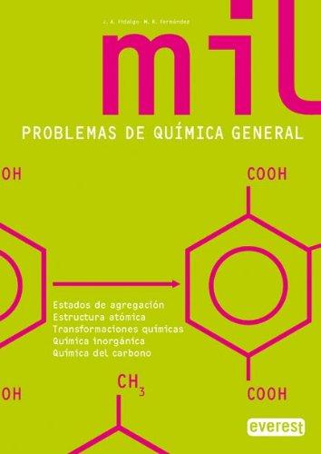 9788424176044: 1000 Problemas De Química General (Bachillerato Everest) - 9788424176044