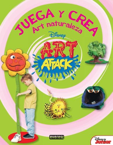 9788424178352: Art Naturaleza (Art Attack)