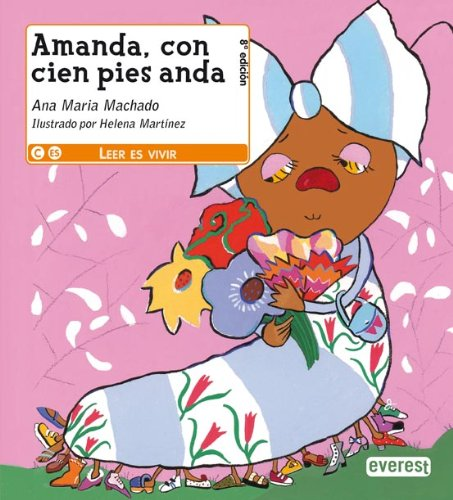 9788424179007: Amanda, con cien pies anda (Leer es vivir)